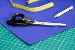 Kit de accesorios del sastre Fotografía de archivo libre de regalías