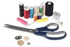 Kit de costura Fotografía de archivo libre de regalías