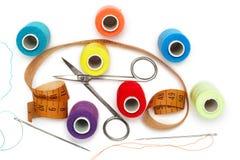 Kit de costura Fotografía de archivo
