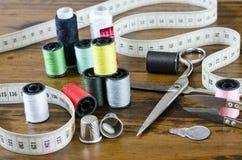 Kit de couture image libre de droits