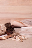 Kit de couture de métier. Mise sur pied des accessoires Image stock