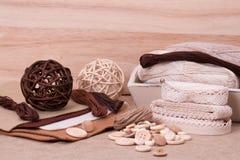 Kit de couture de métier Mise sur pied des accessoires de passe-temps Photo stock