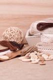 Kit de couture de métier Mise sur pied des accessoires de passe-temps Images libres de droits