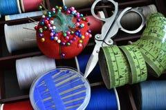 Kit de couture malpropre Photos libres de droits