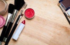 kit de maquillage image stock