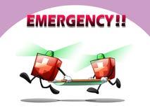 Salvamento da emergência Fotos de Stock Royalty Free