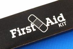 Kit de primeros auxilios Imagen de archivo libre de regalías