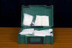 Kit de primeros auxilios 2 Fotografía de archivo libre de regalías