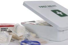 Kit de primeros auxilios 3 Fotos de archivo libres de regalías