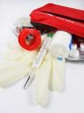 Kit de recorrido médico Foto de archivo libre de regalías