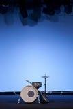 Kit de tambour sur l'étape Photo libre de droits