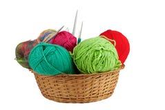 Kit de tricotage Photographie stock