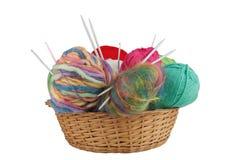 Kit de tricotage Photo libre de droits