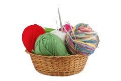 Kit de tricotage Image stock