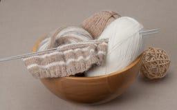 Kit de tricotage de métier Accessoires de passe-temps Photos stock