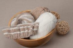 Kit de tricotage de métier Accessoires de passe-temps Image libre de droits