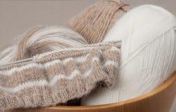Kit de tricotage de métier Accessoires de passe-temps Photos libres de droits