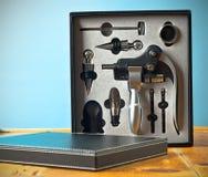 Kit del abrelatas del vino Imagen de archivo libre de regalías