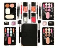 Kit del maquillaje foto de archivo