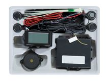 Kit del sensore di parcheggio Fotografie Stock