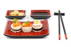 Kit del sushi Fotografía de archivo libre de regalías