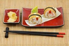 Kit del sushi Imagen de archivo