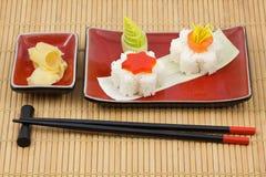Kit del sushi Imagen de archivo libre de regalías