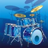 Kit del tambor Fotografía de archivo