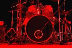 Kit del tamburo Immagini Stock Libere da Diritti