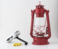 Kit dell'interruzione elettrica o di emergenza immagine stock libera da diritti