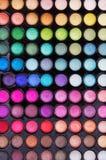 Kit dell'ombra di occhio Fotografie Stock