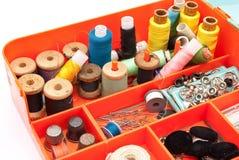 Kit di cucito Immagine Stock