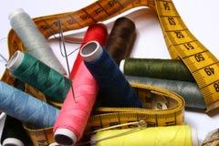 Kit di cucito Fotografie Stock