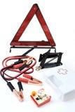Kit di emergenza per l'automobile Immagini Stock Libere da Diritti