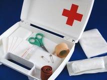Kit di pronto soccorso Fotografie Stock