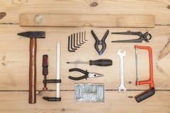 Kit di strumento immagini stock