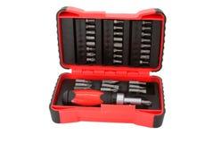 Kit di strumento del cacciavite Fotografie Stock Libere da Diritti