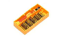 Kit di utensili del cacciavite Fotografie Stock Libere da Diritti