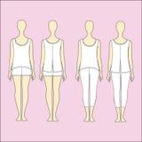 Kit jersey home. Pyjamas for women. Royalty Free Stock Photo