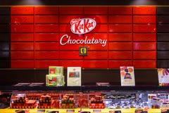 Kit Kat Chocolatory Fotos de Stock