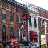 Kit Kat Italian Bar et gril Toronto Images stock
