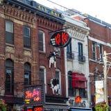 Kit Kat Italian Bar & Grill Toronto Stock Afbeeldingen