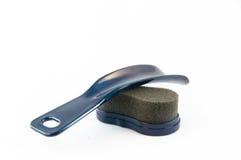 Kit limpio del zapato Fotografía de archivo