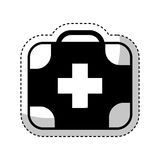Kit medical isolated icon Royalty Free Stock Photography