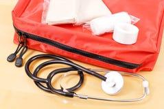 Kit medico di trauma di emergenza Immagine Stock Libera da Diritti