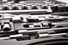 Kit Of Metallic Tools Stock Image