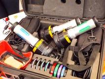 kit pour la prise d'empreintes digitales Images libres de droits