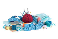 Kit for sewing Royalty Free Stock Photos