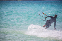 Kit Surfer masculino Imagens de Stock