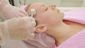 KIT therapy, facial rejuvenation, roller stock video